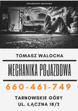 Tomasz Walocha - mechanika pojazdowa
